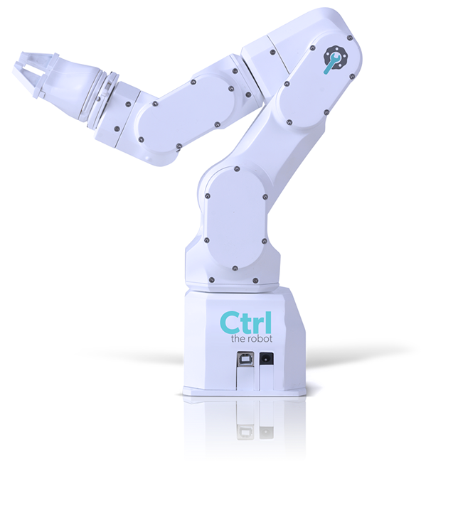 CTRL, THE INDUSTRIAL ROBOT ON YOUR DESKTOP