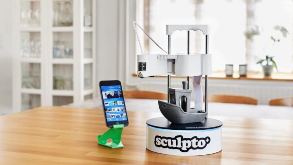 SCULPTO+ THE WORLD'S MOST USER-FRIENDLY DESKTOP 3D PRINTER
