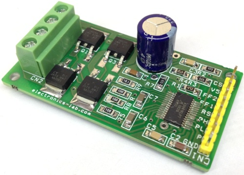 50V – 10A BIDIRECTIONAL DC MOTOR DRIVER USING A3941
