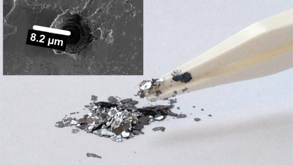 RESEARCHERS DEVELOPED LOW COST BATTERY FROM GRAPHITE WASTE