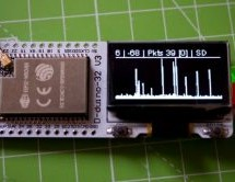 PacketMonitor32 – An ESP32-Based Packet Monitor with OLED
