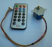Unipolar Stepper Motor Control From IR Remote Control Using PIC18F4550