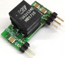 ISOLATED POWER SUPPLY FOR RS485, RS422, RS232, SPI, I2C AND POWER LAN