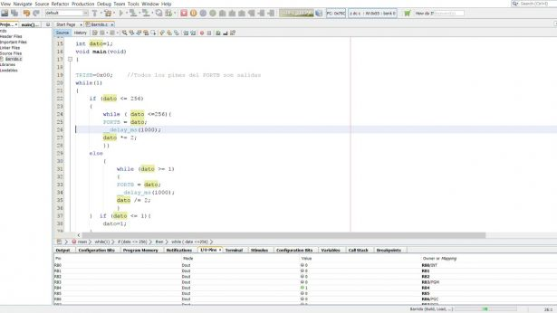 mplab x ide screenshot 1