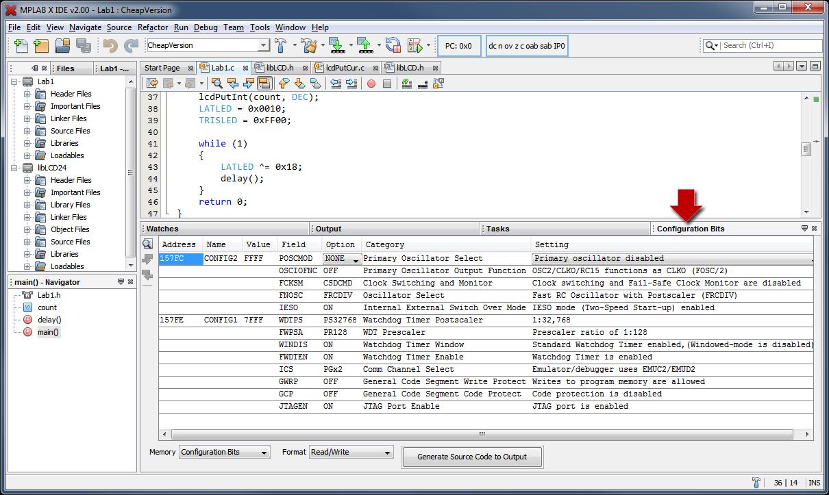 MPLAB X IDE download