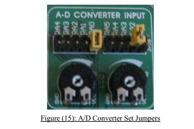 A D Converter Input