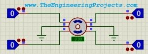 Stepper Motor Drive Circuit in Proteus ISIS
