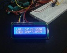 Display GPS Co-ordinates on LCD using pic microcontroller
