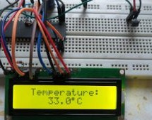 Interfacing LM35 temperature sensor with PIC18F4550 microcontroller