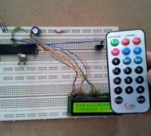 NEC Remote control decoder with PIC16F84A