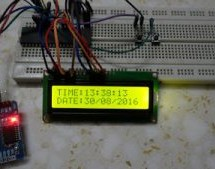 Real time clock & calendar with PIC18F4550 and DS3231