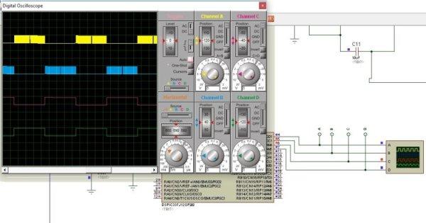 dspic33fj12GP202 based sinusoidal pulse width modulation generation