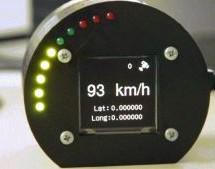 GPS based speedometer using pic microcontroller