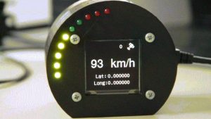 GPS based speedometer using pic microcontroller