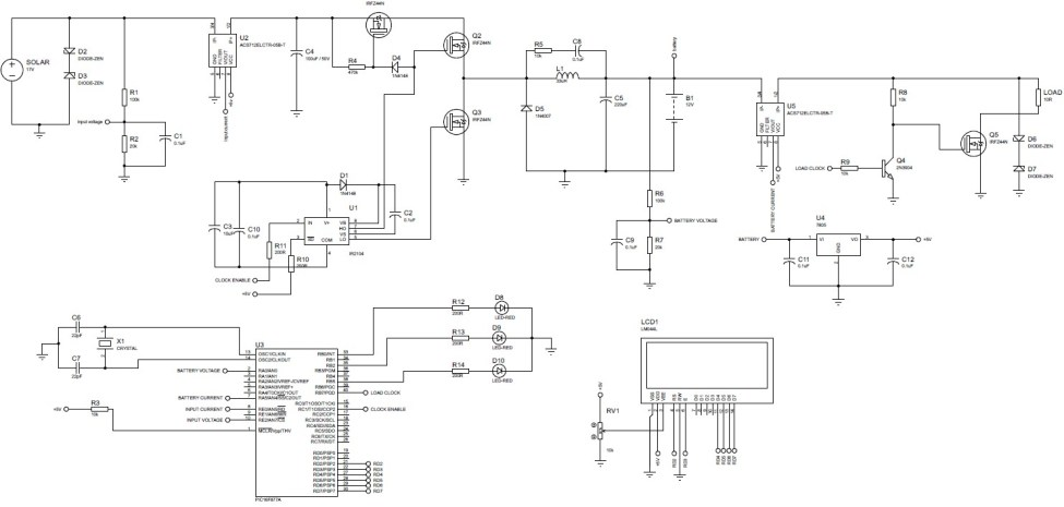 Remarkable Mppt Based Charge Controller Using Pic Microcontroller Wiring Database Ittabxeroyuccorg