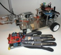 accelerometer Based Hand Gesture Controlled Robot using Xbee