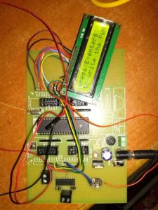 gsm based dc motor speed control using pic microcontroller