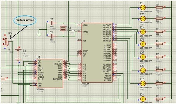 ADC-interfacing-with-8051-microcontroller-full-voltage