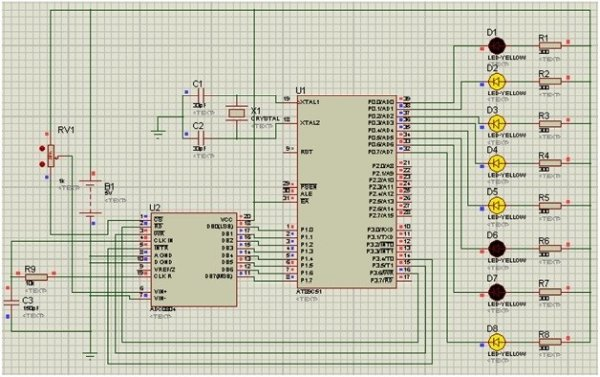 ADC-interfacing-with-8051-microcontroller-simulation-results