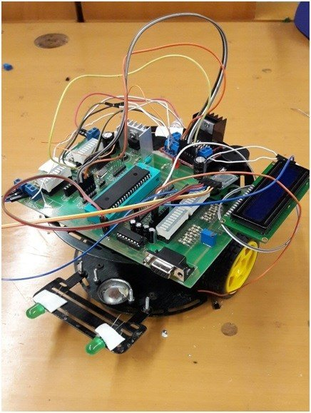 Bluetooth-controlled-robot