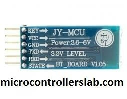 Bluetooth-module-HC-05-interfacing-with-pic-microcontroller