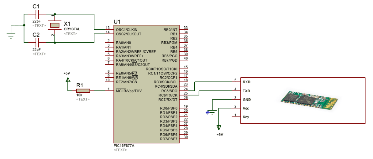 Bluetooth-module-HC-05-interfacing-with-pic16f877a-microcontroller