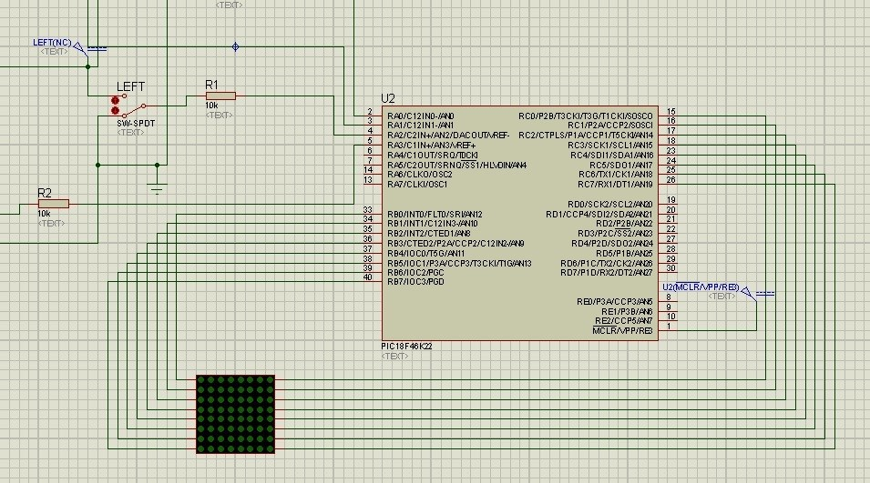 Dot Matrix Interfacing with Microcontroller:
