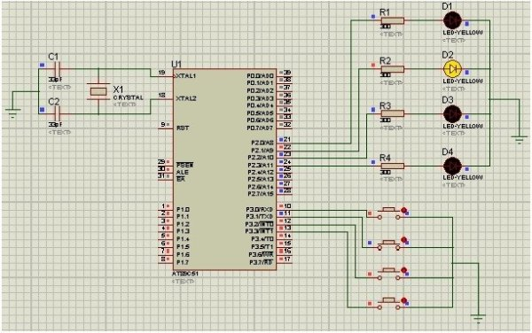 LED-blinking-with-8051-microcontroller