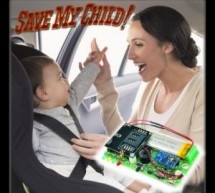 Save My Child: The smart sensor that sends text messages if you forget the child in the car