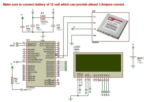 Wireless-Electronics-Notice-Board-Controlled-by-GSM-with-Number-of-Programmable-Features