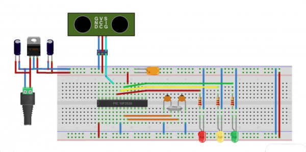 parking management system project using pic microcontroller.