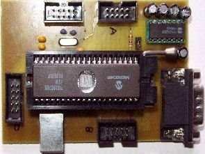 pic16c765-usb-test-karti-p16C765board
