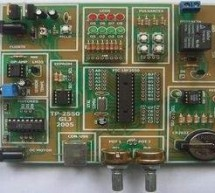 DEVELOPMENT BOARD PIC18F2550 PIC18F4550