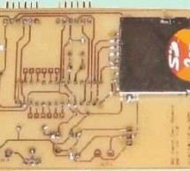 PIC18F2520 SD MMC DEVELOPMENT BOARD CIRCUIT