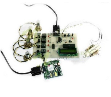 GSM based home devices control system