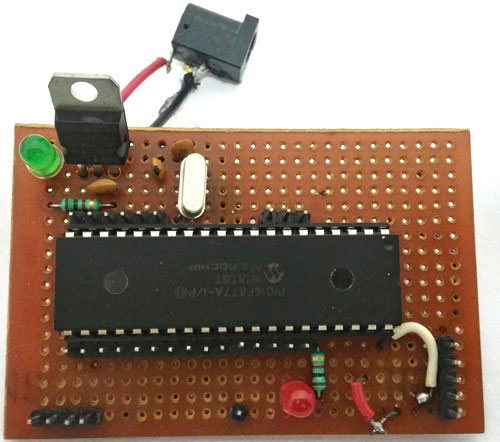 PERF-baord-for-PIC-Microcontroller-tutorials