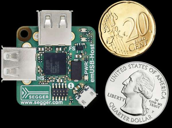 COMPACT, LOW-COST DEVELOPMENT BOARD CARRIES TWO USB HOST PORTS