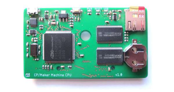 MAKERLISP MACHINE – AN EXPANDABLE EZ80 CPU CARD RUNNING BARE-METAL LISP