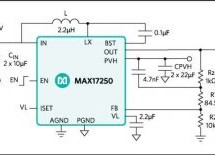 MAXIM INTEGRATED 2.7V TO 18V INPUT MAX17250 DC-DC BOOST CONVERTER