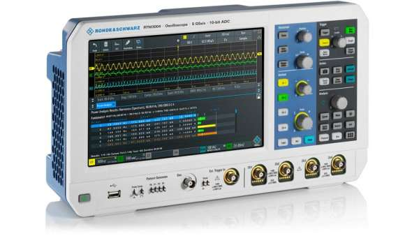 ROHDE & SCHWARZ IS EXPANDING ITS PORTFOLIO WITH THE RTC1000, RTM3000 AND RTA4000 SERIES OSCILLOSCOPES 2