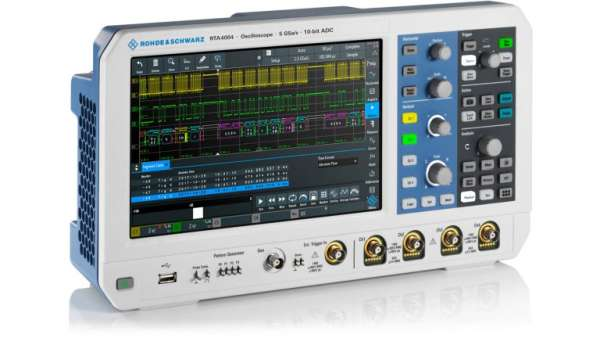 ROHDE & SCHWARZ IS EXPANDING ITS PORTFOLIO WITH THE RTC1000, RTM3000 AND RTA4000 SERIES OSCILLOSCOPES 3