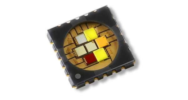 WORLD'S FIRST 50W SEVEN-DIE LED EMITTER