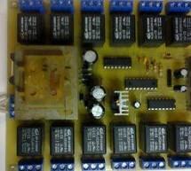 PIC16F628 12 CHANNEL RF RELAY CONTROL (RR10 MODULE)
