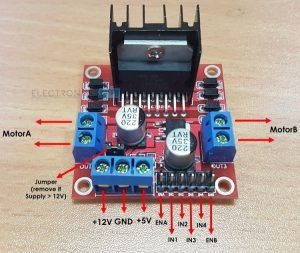 A Brief Note on L298N Motor Driver
