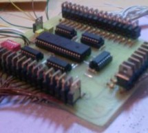 40 CHANNEL ANIMATION LED CIRCUIT PIC18F452