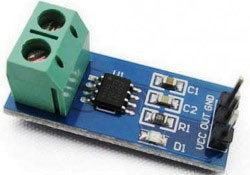 Current Sensor Module ACS712-5A using Pic-microcontroller