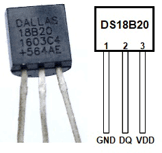 DS18B20 Temperature Sensor using Pic-microcontroller