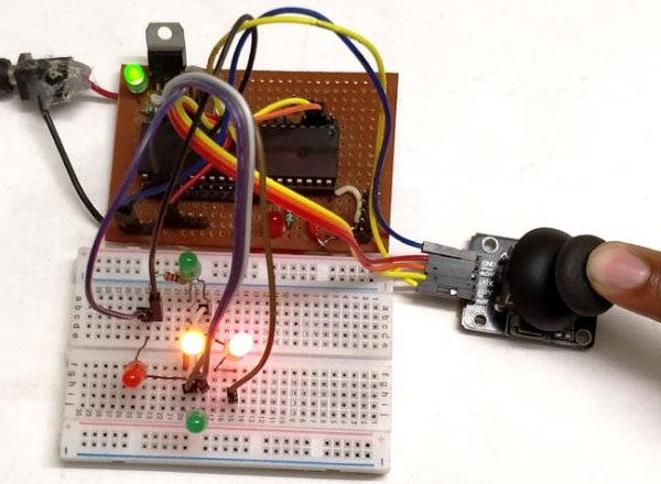 Hardware and Working using Pic-microcontroller