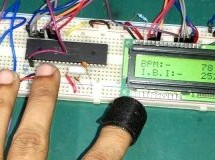Heart Beat Monitoring using PIC Microcontroller and Pulse Sensor