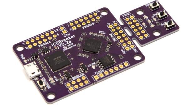 ICEBREAKER FPGA – OPEN SOURCE ICE40 FPGA DEVELOPMENT BOARD